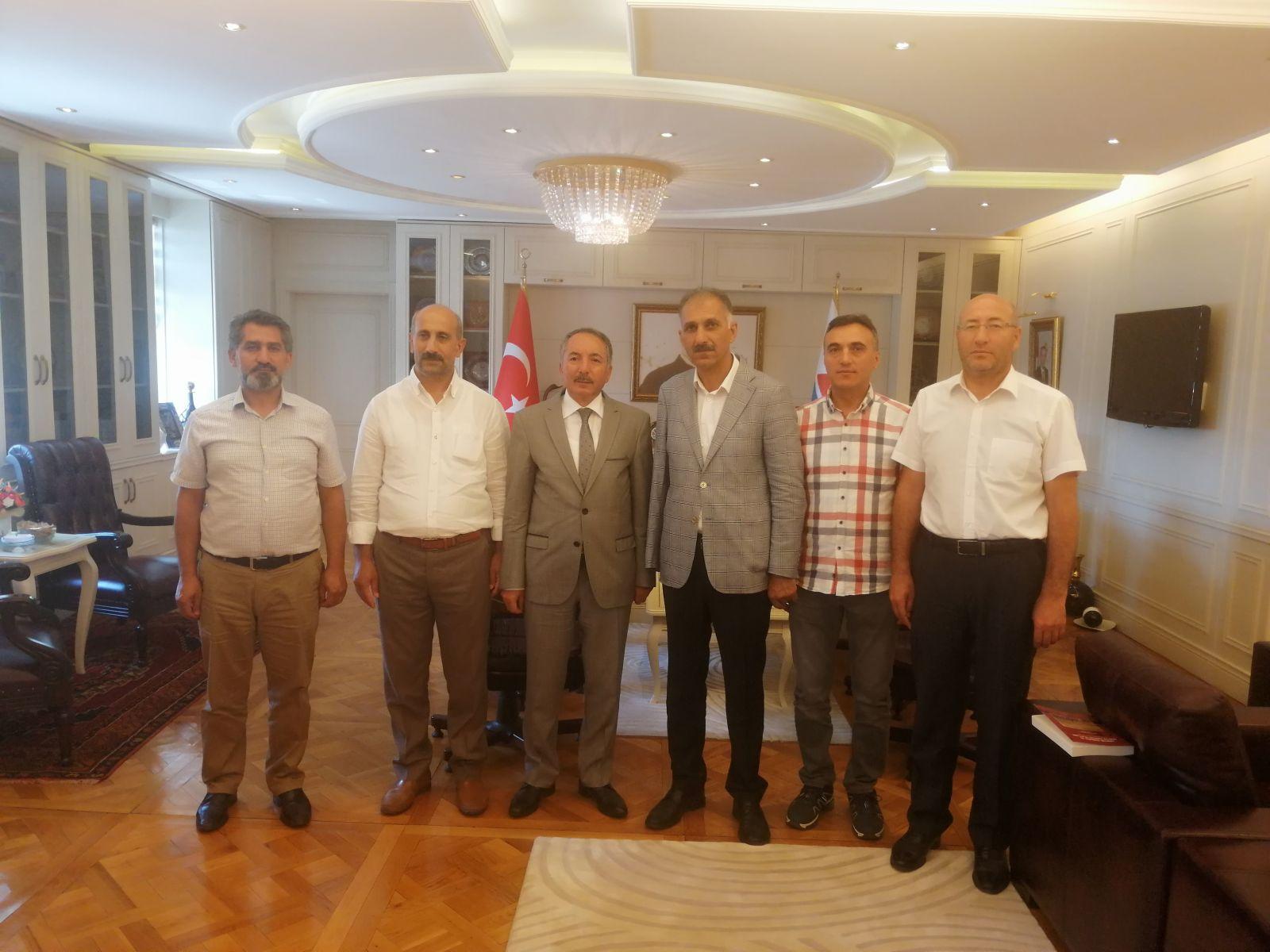 Eğitim-Bir-Sen'den Rektör Karabulut'a Ziyaret